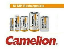 Camelion Batería Pila Recargable Carcasa AAA Aa C D 9V Nimh Acumulador Pilas