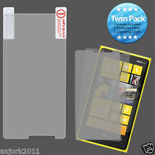Nokia Lumia 920 ULTRA CLEAR SCREEN PROTECTOR+CLOTH TWIN PACK