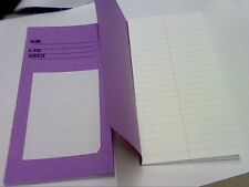 4 cahiers 200 x 100mm 16 feuilles/32 pages ligné-avec ligne rouge-livres d'exercices
