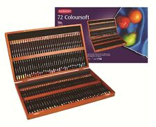 Derwent Coloursoft Pencils 72 Wooden Box Set Derwent  Pencil Box Set