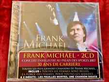 DOUBLE CD FRANK MICHAEL 30 ANS CARRIERE 24 TITRES PALAIS SPORTS PARIS TOUT NEUF