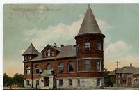 Public Library Goderich Ontario 1911 Postcard