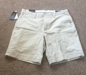 Polo Ralph Lauren Staight Fit Newport Bermuda Shorts - Colour Sand Size 32 Waist