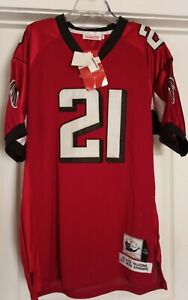 NWT Authentic Deion Sanders #21 Atlanta Falcons (48) stitched Throwback Jersey