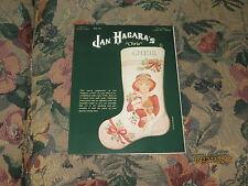 Jan Hagara's Chris Cross Stitch Stocking Leaflet