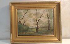 Peinture huile sur bois signé JEAN MARIE DANEIS