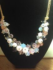 Bead Cluster I.N.C. Necklace Pinks Black Opalescent c.a.k.e.