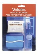 Verbatim LCD CRT Screen & Keyboard Cleaner Kit p/n 41837 Clearance