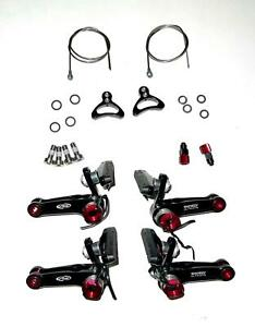 Avid Shorty Ultimate Cyclocross Cantilever Bike Brake SET Front and Rear New