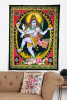 hindu NATARAJ shiva dance natraj nataraja sequin wall hanging tapestry decor art