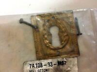 Bocchetta Borchie Chiavi serratura mobili armadi cassetti ottone anticato h 36