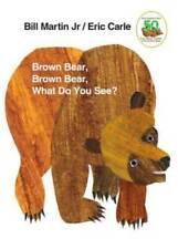 Brown Bear, Brown Bear, What Do You See? - Board book By Martin Jr., Bill - Good