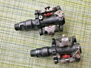 """USED Wellgo WAM-M919 Alloy Clipless Dual Sided MTB Pedals 9/16"""""""