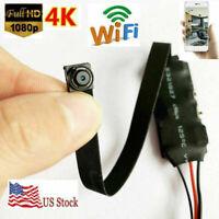 4K 1080p HD Mini wireless WiFi DIY Spy hidden Pinhole micro Camera recorder dvr