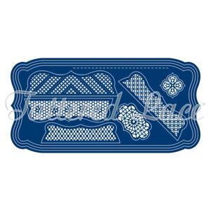 Tattered Lace Festooned Label Card Shapes (TLD0001)