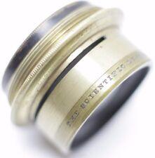 The Scientific Lens Co. EXTR.W.A.Anastigmat No.4 5 Inch F14 Brass Camera Lens
