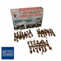 WW2 IJN Pilots and Ground Crew - Red Box Miniatures - RB72053