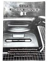 Notice d'origine pour console Sega Megadrive II 2 - Etat correct
