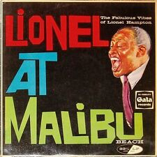 LIONEL HAMPTON 'LIONEL AT MALIBU' UK LP