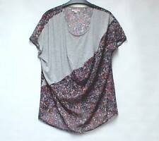 DKNY JEANS Ladies Multi Col Quirky Oversized Tunic Top Dip Hem M net a porter
