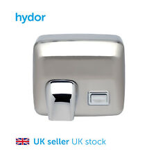 Hand Dryer - 2500W - Manual - Brushed Steel