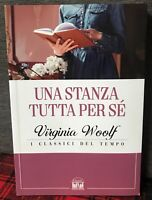 Una Stanza Tutta Per sé Libro di Virginia Woolf I Classici del Tempo Nuovo - Se