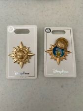 Disney Parks Pinocchio Jiminy Cricket Official Conscience Gold Swivel Pin
