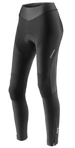 LIV Flara Thermal Long Warm Ladies Cycling Shorts With Seat Cushion Black