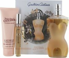 Jean Paul Gaultier Classique 100ml EDT, 75ml Body Lotion and 10ml EDT Gift Set