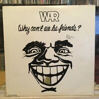 [SOUL/FUNK]~EXC LP~WAR~Why Can't We Be Friends~[Original 1976~UA~Iss]~w/ POSTER