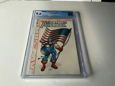 FIGHTING AMERICAN 1 CGC 9.6 WHITE SINGLE HIGHEST GRADED CLASSIC FLAG COVER COMIC