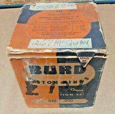 Late 1939-41 Hudson 6 cylinder piston ring set Burd #: 543 .030