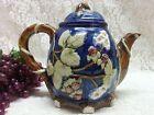 Floral and Berry Vine Tea Pot