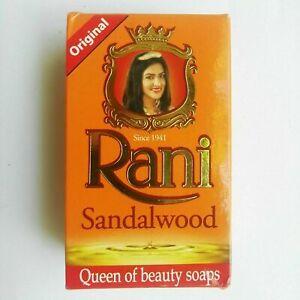 RANI Ayurvedic Soap Red Sandalwood Pure Natural Antibacterial Sri Lanka 90g