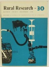 Rural Research in CSIRO 30 Dec 1959 Cattle Sheep Insects Fluke Snails soil