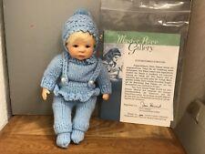 Doris Stannat Porzellan Puppe 22,5 cm. Top Zustand