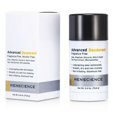 Menscience Advanced Deodorant - Fragrance Free 73.6g Deodorant & Antiperspirant