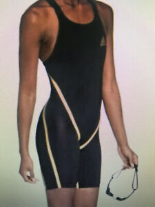 "Adidas Adizero Freestyle Competition Tech Swim Body Suit Womens 26"" NWT $450.00"