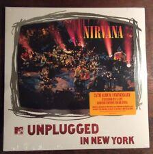 Nirvana 2 LP MTV Unplugged In New York 25th Colored Orange + Purple Vinyl NEW