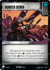 Transformers Tcg Wave 1 Rare Hunker Down #036