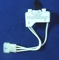 3406107 WHIRLPOOL KENMORE SEARS MAYTAG ROPER KITCHENAID DRYER DOOR SWITCH
