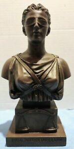 """S. Eylanbekov, Maunf By Alva, 10"""" Bronze """"Lady Justice"""" Statue """"Equal Justice.."""""""