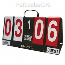 Flip Scoreboard Manual Portable Sport Games Outdoor Volleyball Soccer Basketball