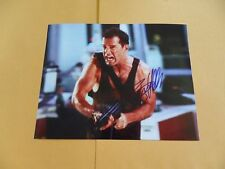 Bruce Willis 8x10 Autographed 'die hard' Photo