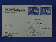 SINGAPORE OLD POSTCARD 1957  to GERMANY  (G7/44)