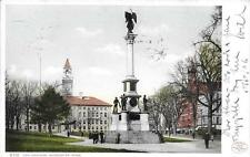 The Common Worcester MA vintage postcard postally used 1906