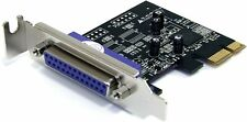 StarTech.com Parallel DB-25 Low Profile PCI Express Schnittstellenkarte - SPP/EP