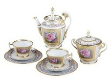 EXCLUSIVE Russian Imperial Lomonosov Porcelain Tea set Recollection 6/20 Rare