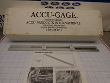 Accuproducts 003 Gang-Check Gang Mower Height Gauge Accu Products New in Box
