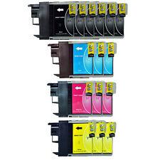 15 Patronen für Brother DCP195C DCP-165C DCP-145C DCP375CW MFC250C LC980 LC1100